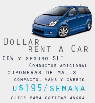 Auto alquiler Dollar Miami