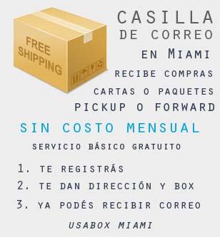 Casilla de correo en Miami