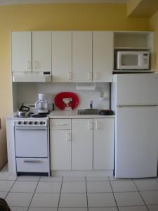Cocina departamento Miami Beach
