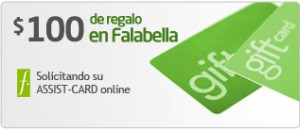 Promo Assist Card Falabella