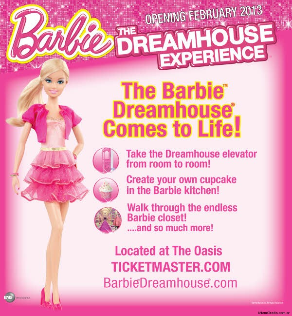 Casa de Barbie en Sawgrass Miami