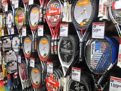 Precios Raquetas de Tenis