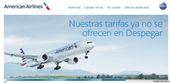 Despegar American Airlines