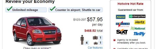 Alquiler Auto Prepago