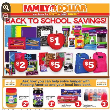 Family Dollar Miami Ad