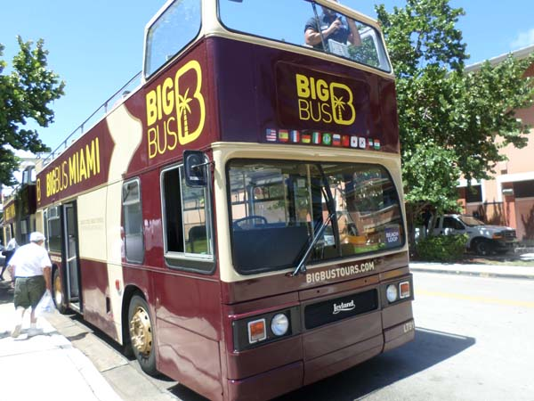 Big Bus Miami tour micro