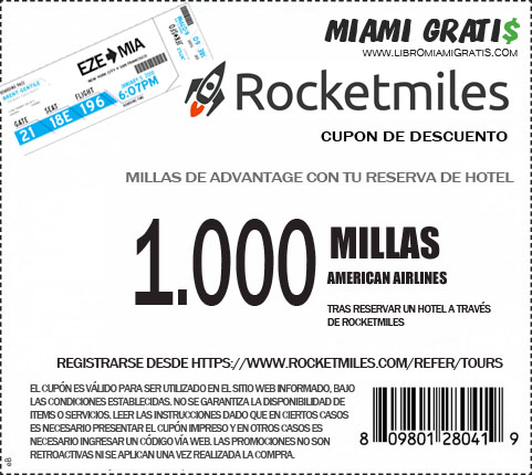 Cupon Rocketmiles