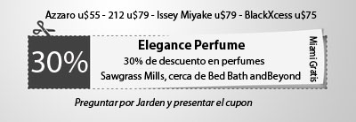 Elegance Perfume Coupon