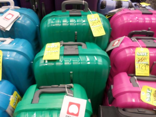 Precio de valijas en Miami