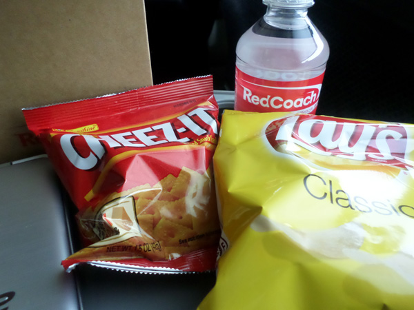 Red Coach Snack