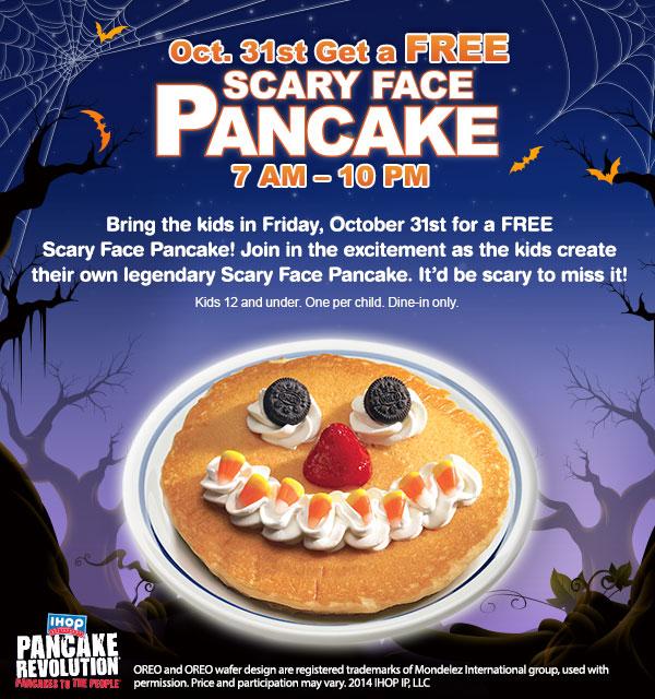 Pancake gratis iHop