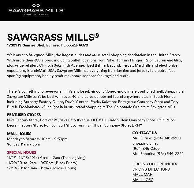 SawgrassThanksGiving2014