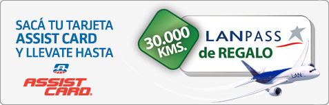 Promocion Lan assist card