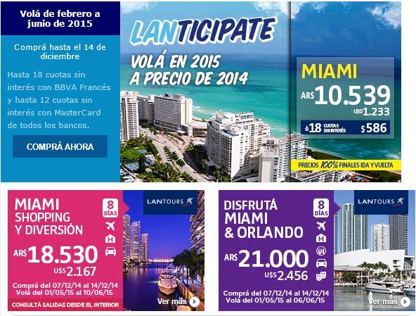 Lan Tours Miami