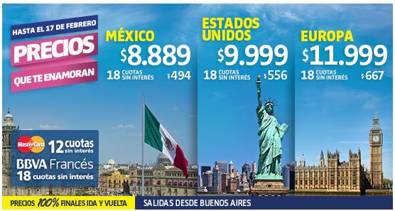 LAN oferta Miami 18 cuotas 2015