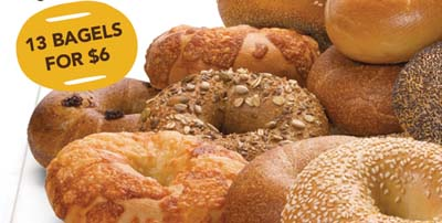 Bagels Einstein Sale