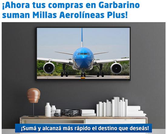 Garbarino Aerolineas Millas