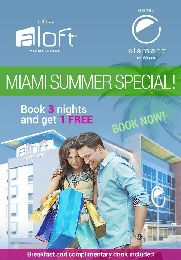 ALoft Hotel cerca Dolphin Mall