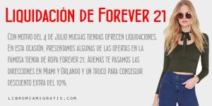 LiquidacionesForever21MiamiOrlando