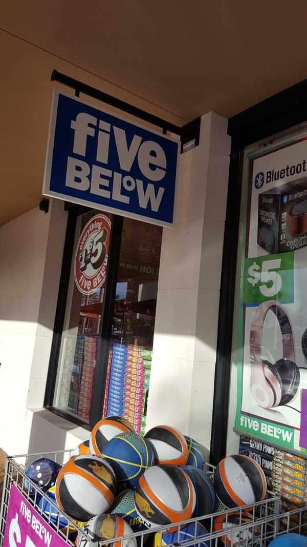 366e74711 Five Below es una cadena de tiendas con productos de todo tipo que van  desde u 1 a u 5.